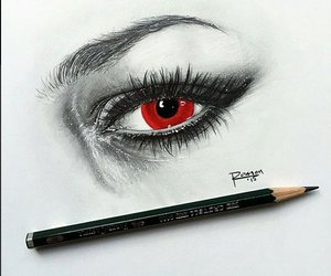 eyes, lashes, and sketch image