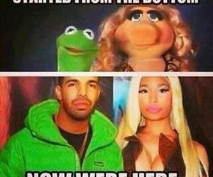 Drake, funny, and nicki minaj image