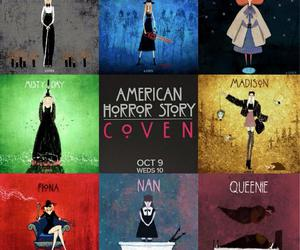 coven, american horror story, and ahs image