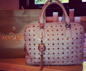 bag, fashion, and Versace image