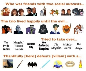 funny, harry potter, and batman image