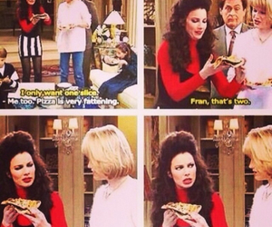 pizza, funny, and the nanny image