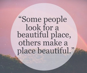 beautiful, people, and place image