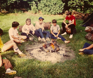 70s, camp, and camping image