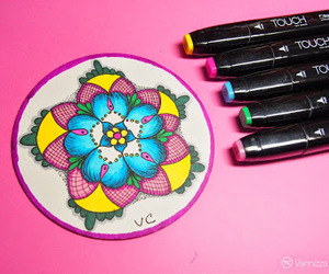 coaster, doodle, and draw image