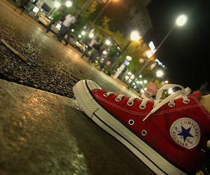 all star, chuck taylor, and rouge image