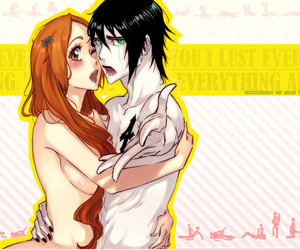 bleach, couple, and manga image