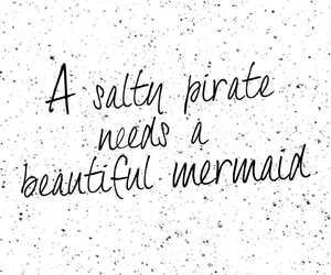 mermaid and quote image