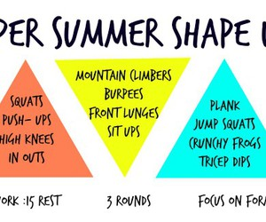 fitness, summer, and workout image