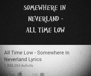 all time low, inspiration, and Lyrics image