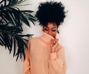 Afro, girl, and pretty image