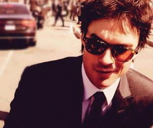 ian somerhalder, sunglasses, and the vampire diaries image