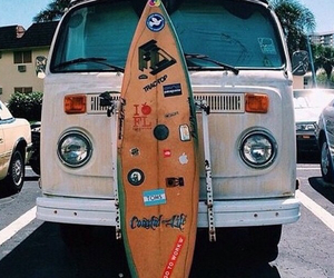 summer, car, and surf image