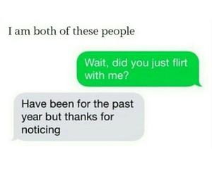 boy, flirting, and girl image