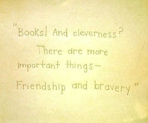 friendship, bravery, and harry potter image