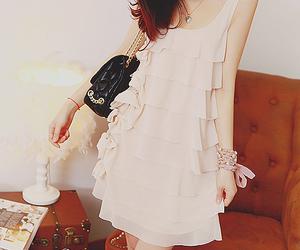 clothes, pretty, and cream image