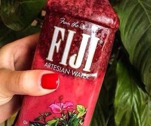 fiji, nails, and tropical image
