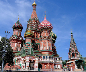 architecture, russia, and st. basil's cathedral image
