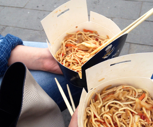 noodles, eat, and food image