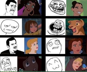 disney, funny, and meme image