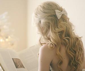 beauty, bow, and fashion image