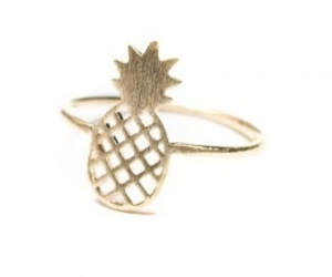 fashion, jewelry, and pineapple image