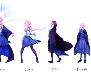 disney, frozen, and harry potter image