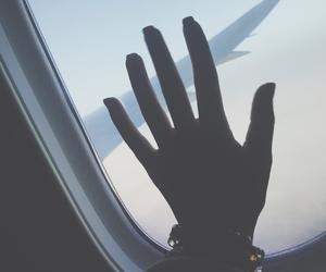 explore, paris, and plane image