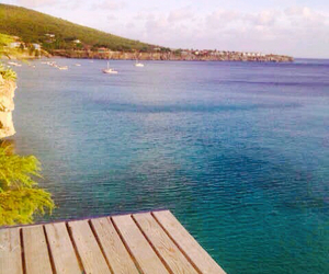 beach, places, and curacao image