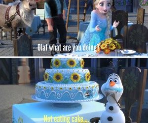 cake, color, and frozen image