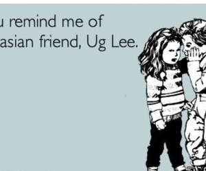 asian, ecards, and friend image