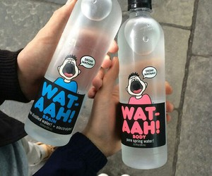 funny, water, and wataah image