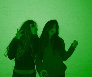 green glow image