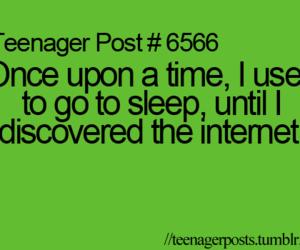 internet, teenager post, and sleep image