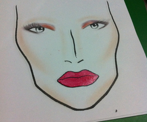 face chart image