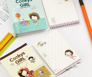 journal, kawaii, and notebook image