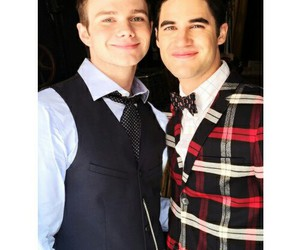 darren criss and chris colfer image