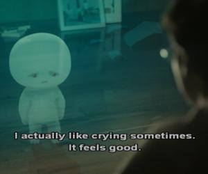 caption, movie, and sadness image