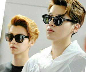 kris, luhan, and miss you image