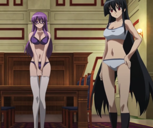 akame, anime, and fanservice image