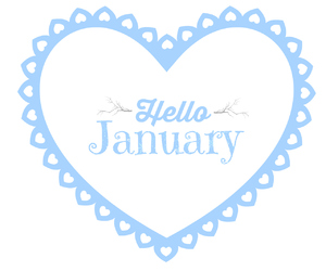 background, branches, and january image