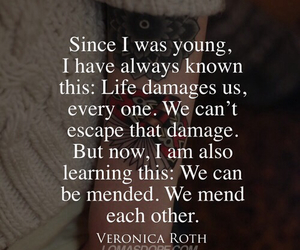 life, quotes, and divergent image