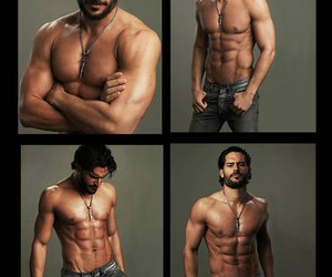 abs, joe manganiello, and Hottie image