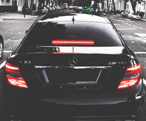 black, luxury, and car image