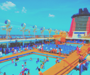 colors, cruise, and disney image