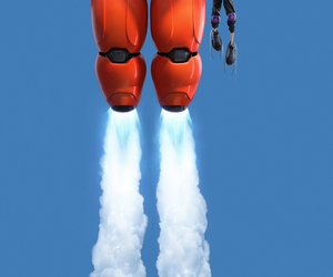 big hero 6, grandes héroes, and baymax image