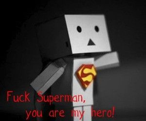 danbo, hero, and quote image
