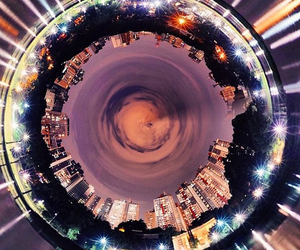awesome, circle, and lights image