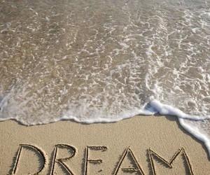 Dream, beach, and sea image