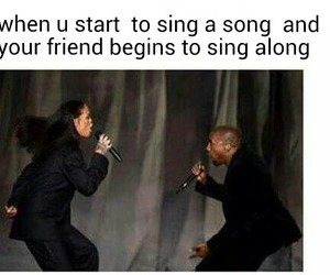funny, lol, and song image